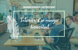 Visuel interview manager bienveillant