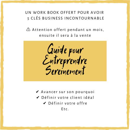 Guide pour Entreprendre Sereinement