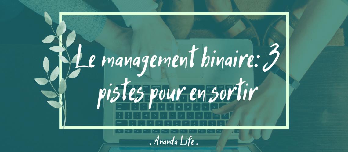 Article Management Binaire