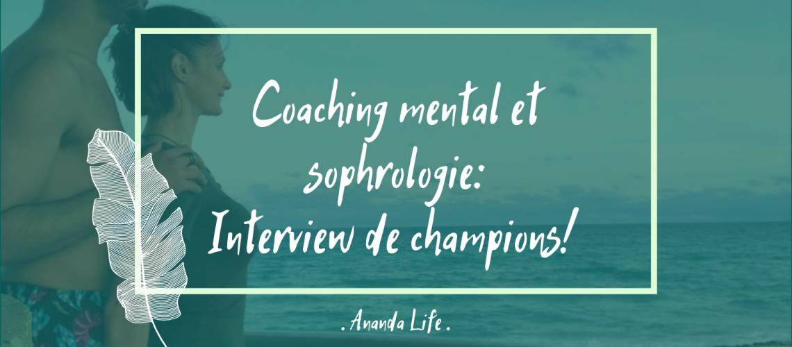 Interview sportifs haut niveau Martiane et Yannick